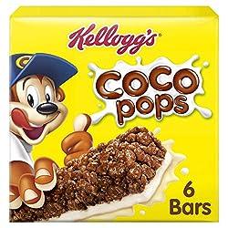 Kellogg's Coco Pops Cereal & Milk Bars, 120g