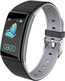 Jian Lin Multifunción Viejo hombre Pantalla grande Pulsera inteligente Frecuencia cardíaca Presión arterial Sueño Monitoreo Impermeable Hombres Bluetooth Deportes Reloj Bluetooth Podómetro reloj intel