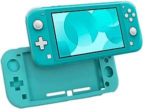 PHONILLICO Coque Silicone Bleu Compatible avec Nintendo Switch Lite - Etui Housse Protection Anti Rayure Anti Choc Anti Dé...