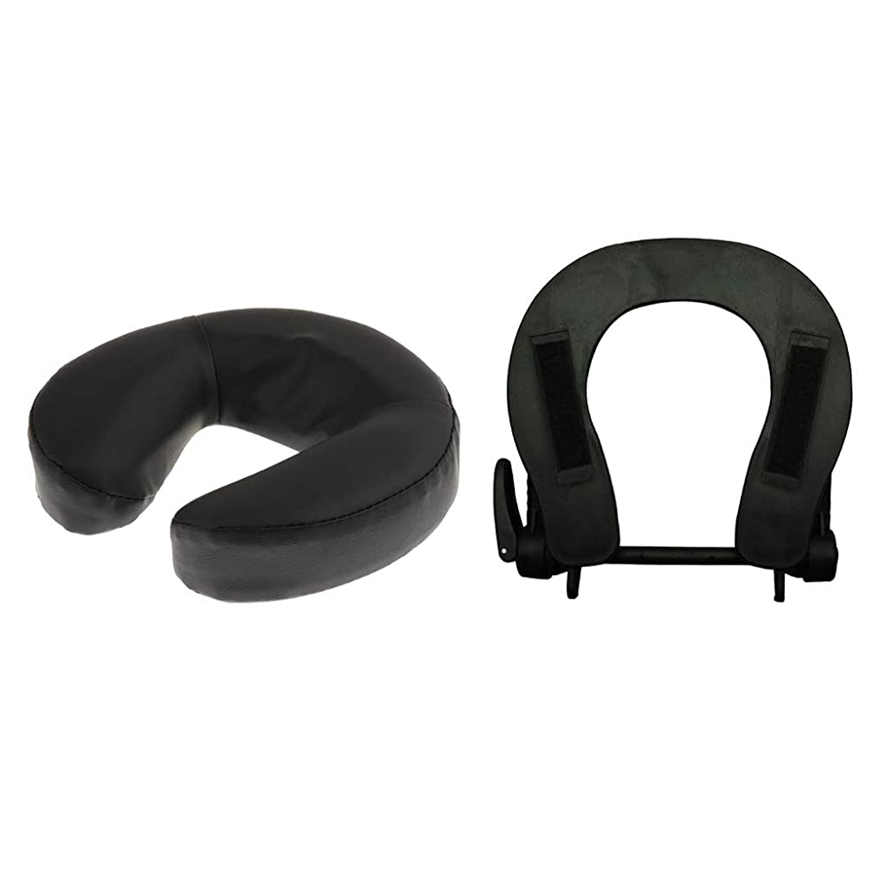 財団フレット現実的B Blesiya フェイスマット 顔マクラ マッサージ枕 顔枕 フェイスクレードル 調節可能 マッサージテーブル 汎用