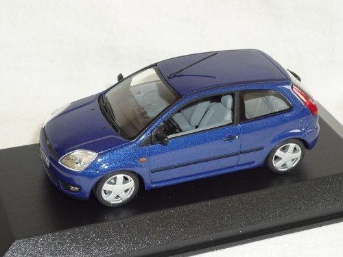 Minichamps Ford Fiesta Blau 3 TÜrer Mk6 2001-2008 1/43 Modell Auto Modellauto