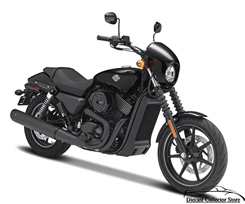 Maisto New 1:12 Harley-Davidson Custom - Black 2015 Harley-Davidson Street 750