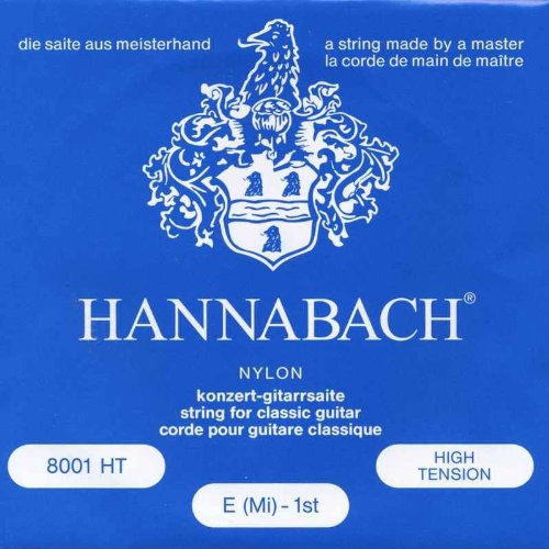 Hannabach 800HT Konzertgitarre High Tension Nylon