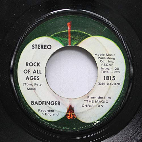 BADFINGER 45 RPM ROCK OF ALL AGES / COME AND GET IT