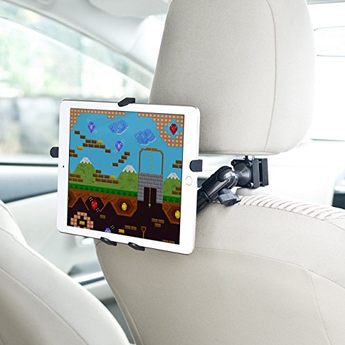 サンワサプライ『iPad・タブレット車載ヘッドレストアーム(200-CAR044)』