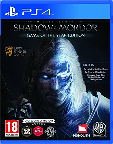 PS4 Mittelerde Mordors Schatten Game of the Year Edition NEU&OVP UK Import, auf deutsch spielbar
