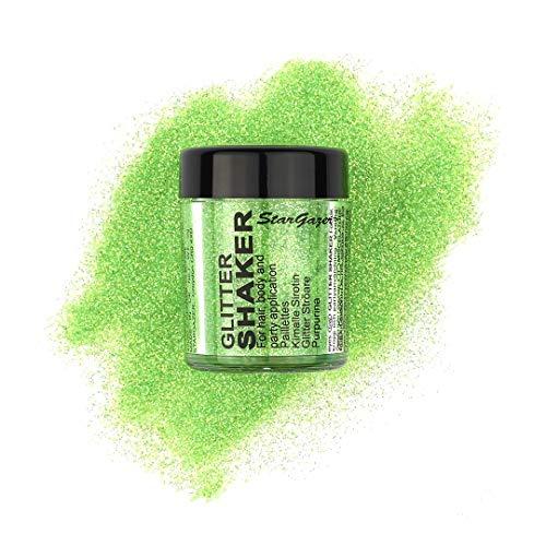 Stargazer Products Glitzer Streudose, UV grün, 1er Pack (1 x 5 g)