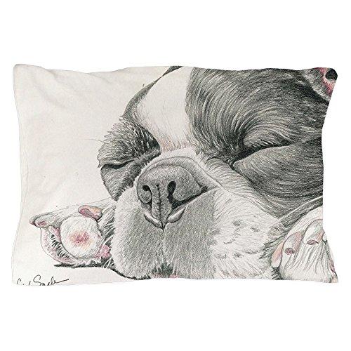 CafePress Sleepy French Bulldog Pillow Case Standard Size Pillow Case, Pillow Cover, Unique Pillow Slip