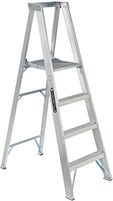 Louisville Ladder AP1004 300-Pound Duty Rating Aluminum Platform Ladder, 4-Foot