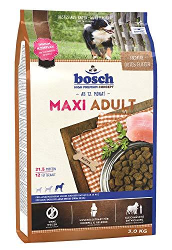 bosch HPC Maxi Adult   Hundetrockenfutter für ausgewachsene Hunde großer Rassen (ab 25 kg)   1 x 3 kg