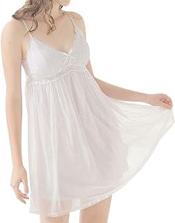 4d906b38 Women's Vintage Sleeveles Victorian Nightgown Sexy Spaghetti Strap  Sleepdress