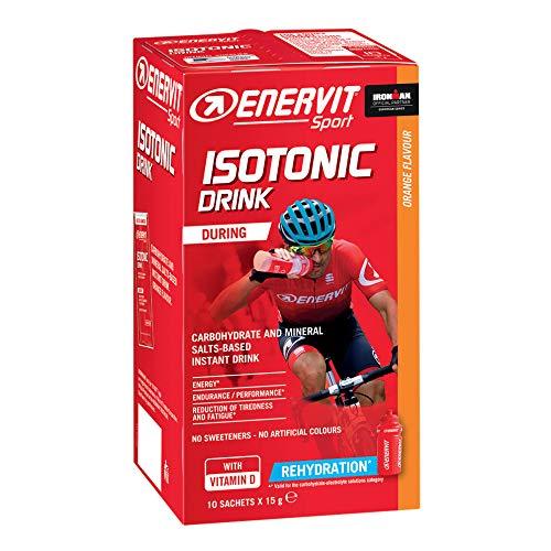 Enervit Sport Bevanda Isotonica Gusto Arancia 10 Bustine Da 15 g