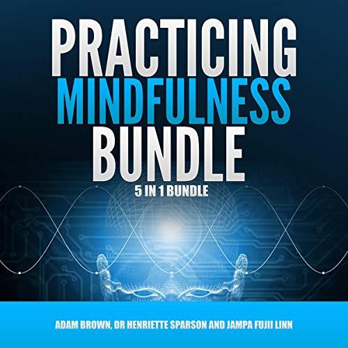 Practicing Mindfulness Bundle: 5 in 1 Bundle, Mindfulness, Transcendental Meditation, Zen Mind, Feng Shui, Yoga for Beginners audiobook cover art