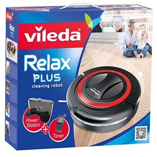 Vileda 147276 Relax Plus – Saugroboter zur Zwischendurchreinigung glatter Böden & kurzfloriger Teppiche – mit Ladestation, Hinderniserkennung und Zeitsteuerung – bekannt aus TV - 3