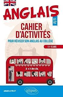 Anglais : Cahier d'activités pour apprendre ou réviser son anglais au collège (Cycle 4 - LV1-LV2) (A1-A2)