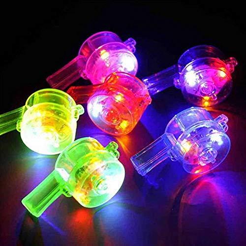 VIOYO Nachtlicht Multi Farben-blinkende Partei-buntes Kindspielzeug-leuchtende Glühen-Pfeife führte Stab-Tätigkeits-Geburtstagsgeschenk-Spielzeug geführtes Nachtlicht