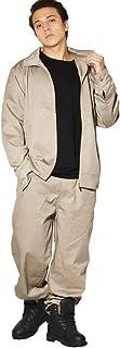 D.O.P(ディーオーピー) セットアップ メンズ 大きいサイズ 作業着 上下セット ワークジャケット ワークパンツ カバーオール