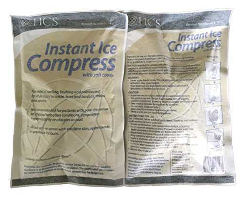Why Choose 6 x 9 Instant Ice Compress with Soft Cover, 24 per Case