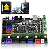 Oumij MKS GEN L V1.0 Controller Board Mainboard Ramps1.4 Dual Extruder Touch for 3D Printer Accessories