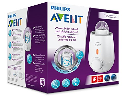 Philips Avent SCF355/00 - Calienta biberón rápido,...