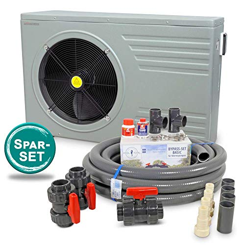 Astral Pool Wärmepumpe AC-Premium + Anschluss-Set/ 15 kW bis 50m³ Pool