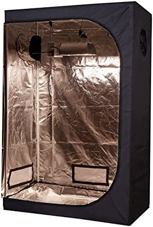 TopoLite Full Range Multiple Sized 48 x24 x72 Indoor Grow Tent Room 600D Mylar Hydroponic Growing product image