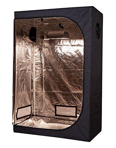 TopoLite Full Range Multiple Sized 48'x24'x72' Indoor Grow Tent Room 600D Mylar Hydroponic Growing...