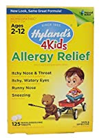 Hylands Homeopathic Allergy Relief 4 Kids Quick Dissolve Tabs (125 Tablets)