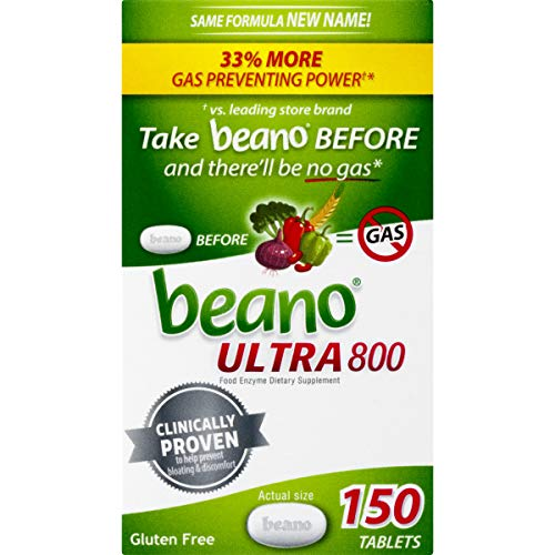 Beano Gas Relief Digestion 150 Tablets