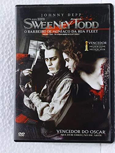 Dvd - Sweeney Todd O Barbeiro da Rua Fleet