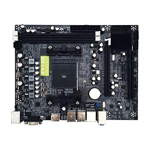 RHNE A88M2 A10 Carte mère A58 PCI-E 2xDDR3 4xSATA2.0 Interface DIMM FM2 / FM2 + Interface CPU DDR3 pour Carte mère d'ordinateur AMD Noir