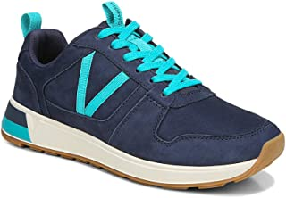 Vionic Women's Curran Rechelle Casual Sneaker- Supportive Lace Up Sneakers That Include Three-Zone Comfort with Orthotic I...