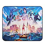 Gaming Mouse Pad - Game Mouse Pads ,Small Mouse Pad,Non-Slip Mouse Mat with Delicate Edges,Mousepad for Kids Teens Adults Office Dorm Computer Laptop11.81 x 9.84 x 0.12Inch(30cm x 25cm x 0.3cm)