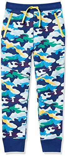 Spotted Zebra Pantalones de chándal de Forro Polar con Bolsillo con Cremallera Pants, Camuflaje, S