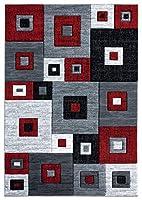 United Weavers ブリストル シケロ レッドマットラグ 2フィート7インチ x 4フィート2インチ
