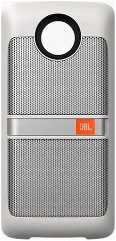 new arrival JBL SoundBoost Moto lowest outlet online sale Mod Speaker moto Z, White outlet sale