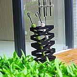 OH Soportes de paraguas, soporte de paraguas rectangular de metal negro/Modern Umbrella Rack/Modern Home Decor, Entryway - Soporte para paraguas independiente/Blanco