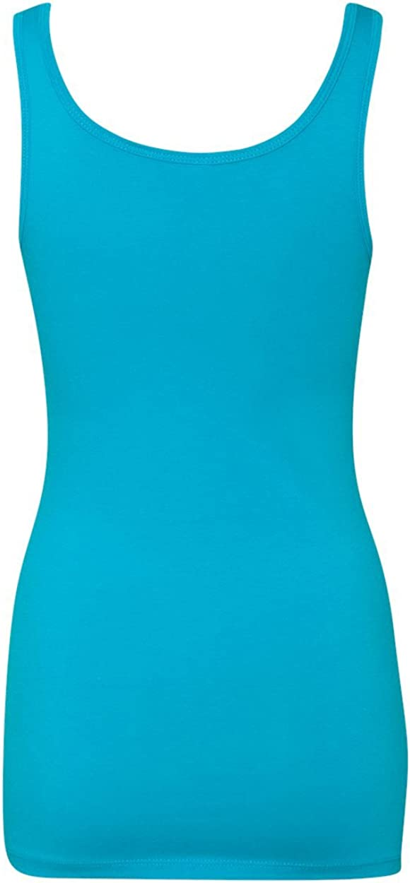 Next Level 3533 Jersey Tank Top Turquoise XX-Large