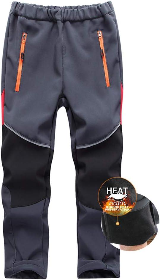 Asfixiado Boys Snow Pants Kids Girls Max 41% Max 47% OFF OFF Insulated Ski Lined Fleece