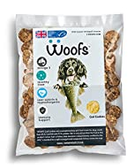WOOFS Cod and Potato Cookie Treats - 500g Great for Dog Dental care and Nutrition - 100% Natural Ing...