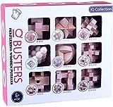 Easygame-cs - Rompecabezas de madera para el cerebro, juguete de prueba de IQ, rompecabezas de Kong Ming, desenredos, juego de desbloqueo para niños y adultos