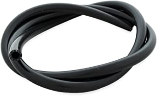 2mm ID Black 500mm Silicone Vacuum Hose AutoSiliconeHoses