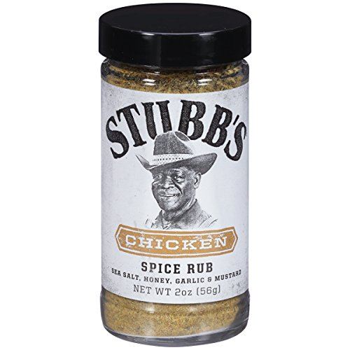 Stubb's Chicken Spice Rub, 2 oz (Pack of 6)