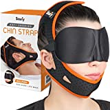 Anti Snoring Chin Strap for CPAP Users and Mouth Breathers – Ultra Soft Sisufy Snoring Solution, Anti Snoring Devices. Stop Snoring Sleep Aid, Jaw Strap