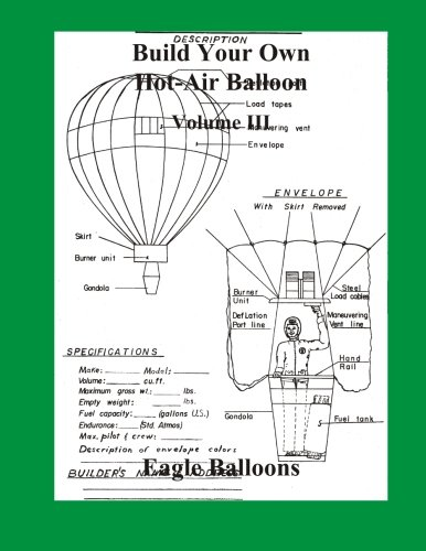 Build Your Own Hot-Air Balloon: Volume III