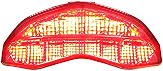 Integrated Sequential LED Tail Lights Smoke Lens for 2014-2019 Ducati Monster 797 821 1200 2017-2019 Supersport
