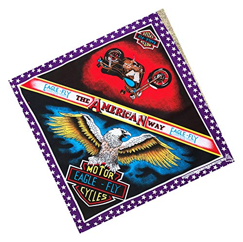EAGLE FLY De AMERACA weg, MOTOR EAGLE-FLY CYCLES Bandana, Zakdoek
