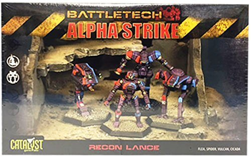 Battletech Alpha Strike Recon Lance (2014) by Catalyst Game Labs