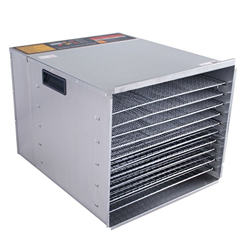 Buy Adumly 10 Tray Commercial Stainless Steel Dry Food Fruit Dehydrator Heat Blower Dryer