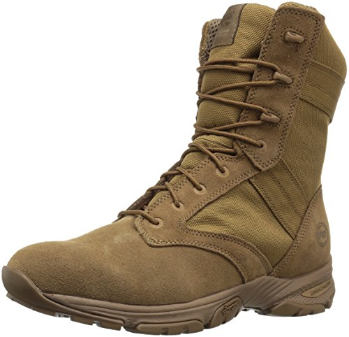 """Timberland PRO Men's Valor 8"""" Tactical Soft Toe Military & Tactical Boot, Coyote Microfiber, 11 M US"""